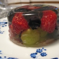 Prosecco and Fruit Terrine