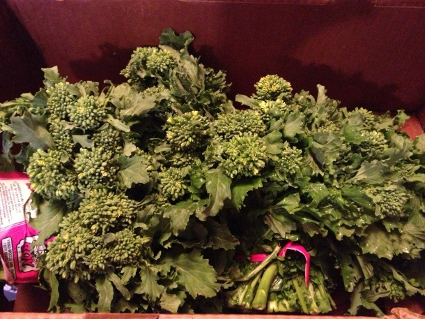Fresh Rapini/Broccoli Rabe