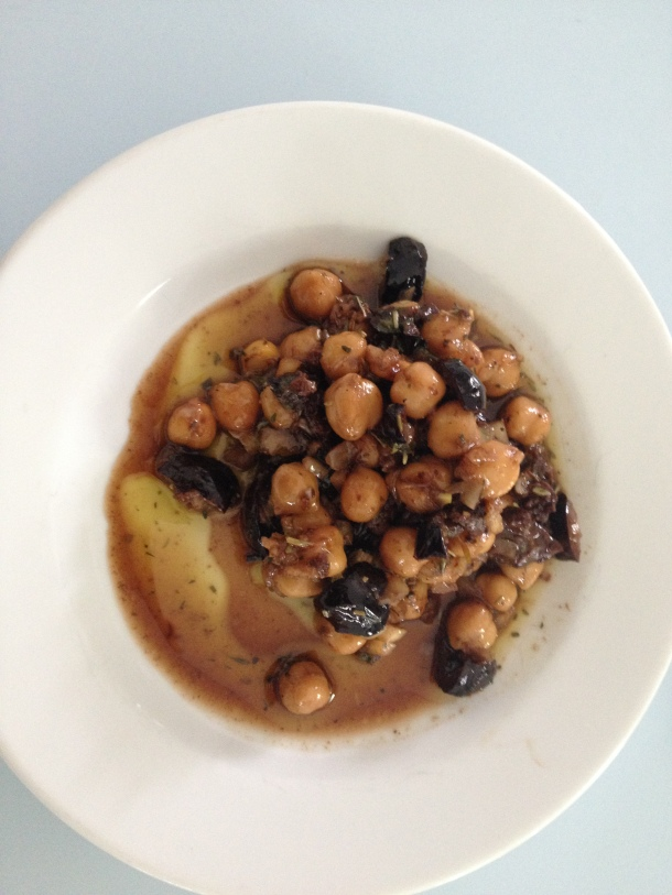 Chickpea, Olives & Dried Herbs