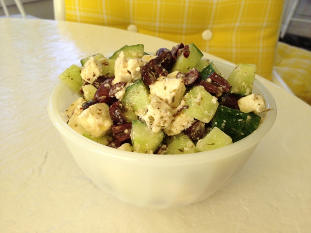 A Cool Refreshing Arab Style Salad