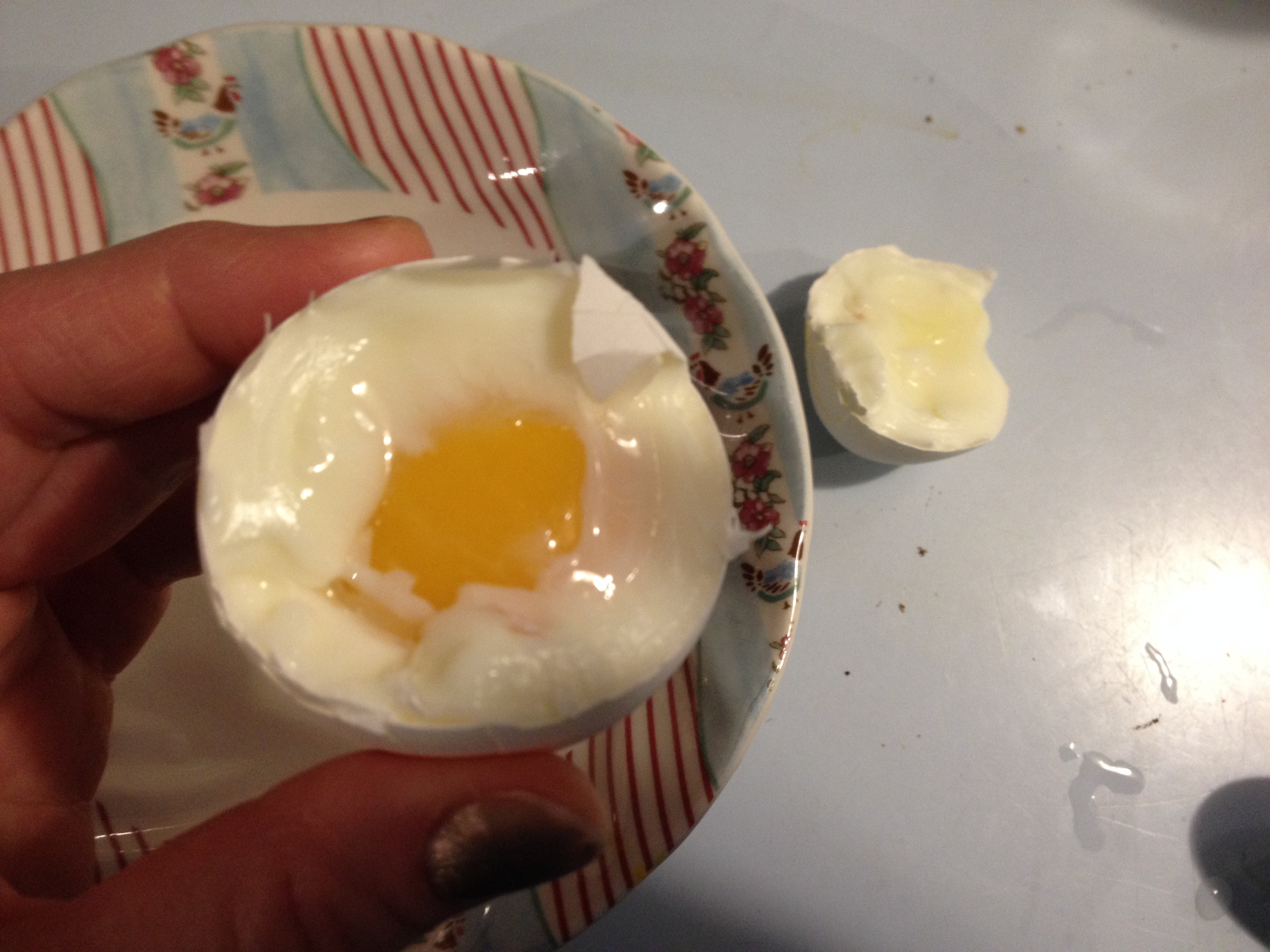 The  Opened Soft-Cooked Egg