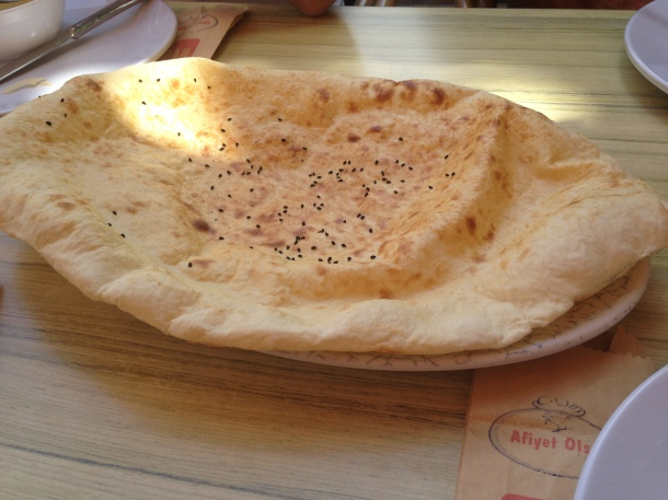 Naan ready to eat!