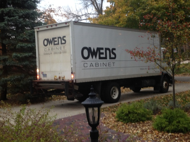 Owens Cabinet is here!