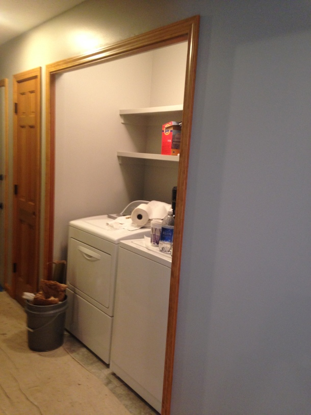 Bi-Fold Doors Removed from Laundry Closet