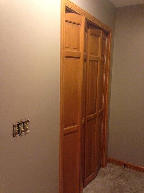 Old Style Bi-Fold Doors