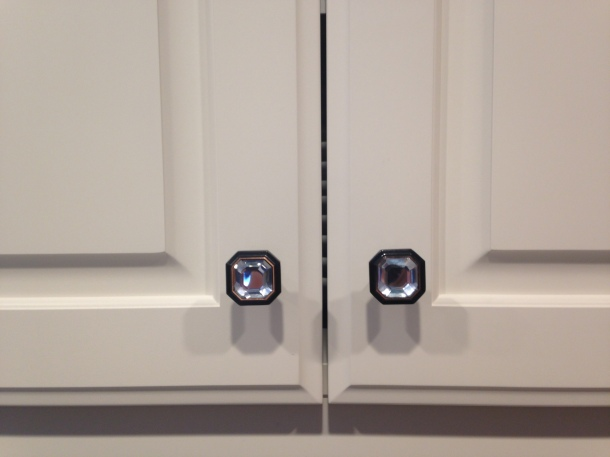Crystal Knobs in Venetian Bronze too!