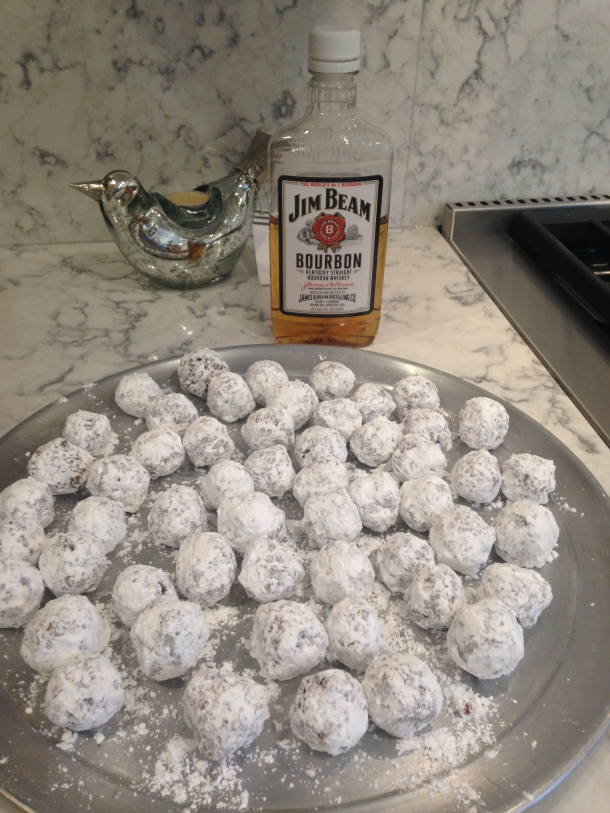 Bourbon Balls are a No Bake Cookie!