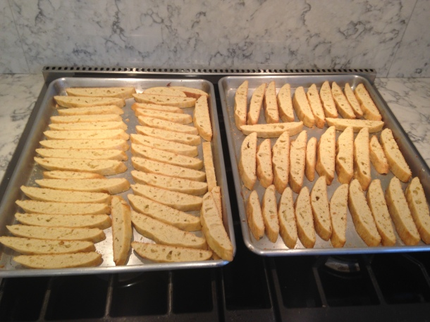 Toasted Biscotti