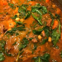No Sear Lamb or Beef and Chickpea Stew