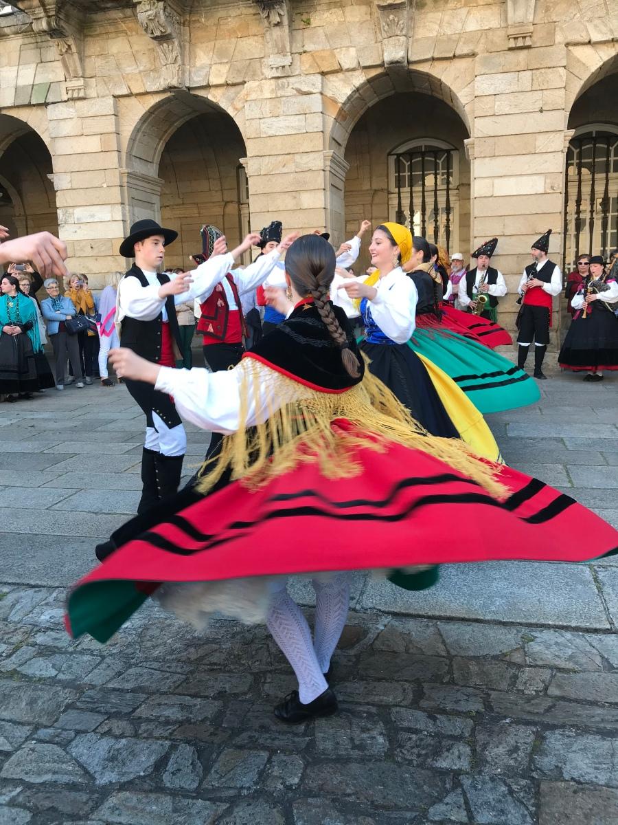 Santiago de Compostela: Ascension Day Celebrations